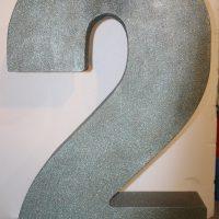 نمونه اعداد سه بعدی فومی