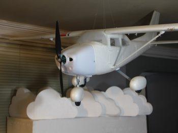 ماکت یونولیتی پروازی هواپیما