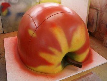 ماکت یونولیتی تبلیغاتی سیب
