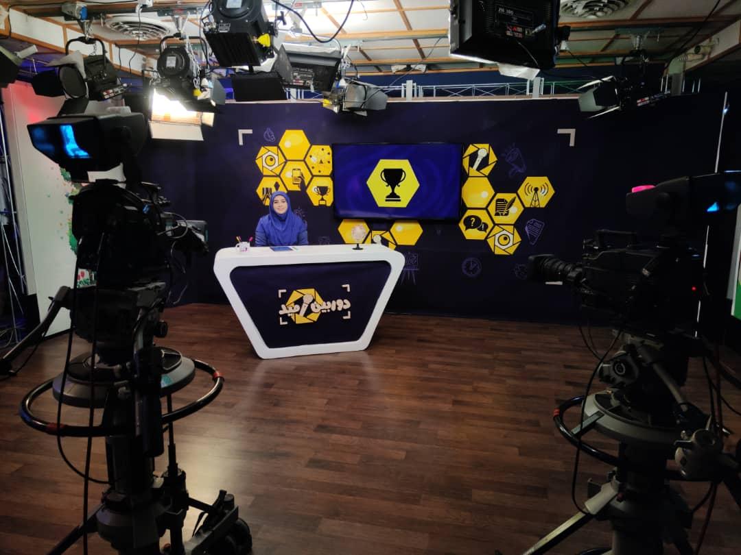 دکور برنامه تلویزیونی دوربین خبری شبکه امید
