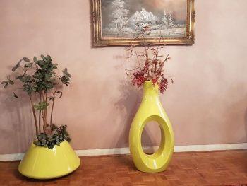 گلدان دکوری(گلدان فایبرگلاس)